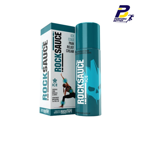 ROCKSAUCE ICE GEL PAIN RELIEF- 88.7ml - PerformBetter.co.za by ASP Sports Science