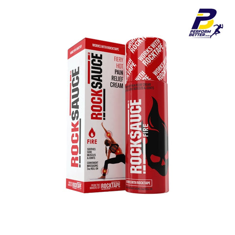 ROCKSAUCE FIRE CREAM PAIN RELIEF - 88.7ml - PerformBetter.co.za by ASP Sports Science