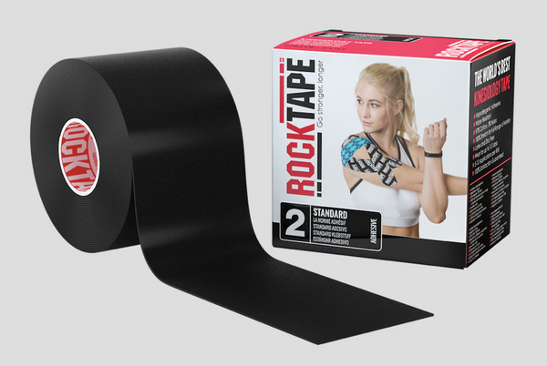 BLACK ROCKTAPE - 5CM WIDE STANDARD