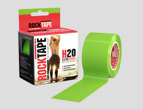 H20 LIME ROCKTAPE - 5CM WIDE STANDARD
