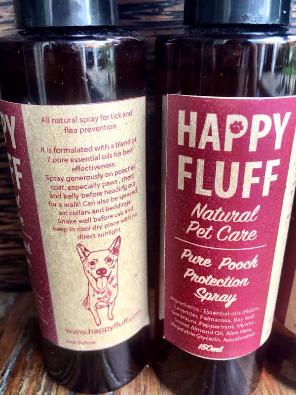 Happy Fluff's Pure Pooch Protection Spray