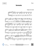 Serenata - SATB + Piano