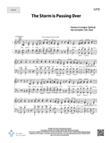 The Storm is Passing Over - SATB