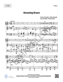 Amazing Grace (paroles françaises de Gilles Beaudet) - SATB + piano