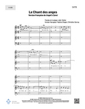 Chant des anges - SATB