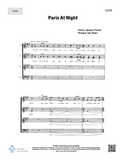 Paris At Night - SATB