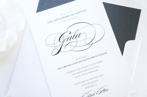 Elegant Company Event Invitation