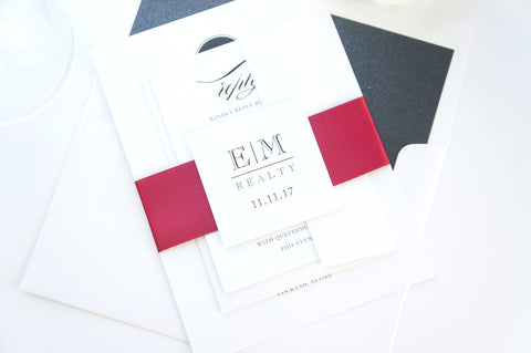 Elegant Corporate Event Invitation with Logo