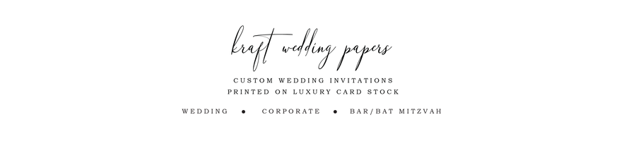 KraftWeddingPapers
