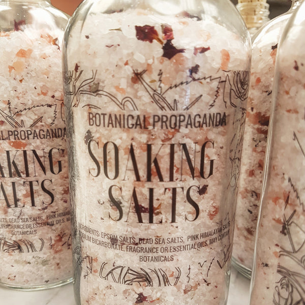 The Natural Healing Benefits of Bath Salts