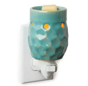 Pluggable Fragrance Warmers - Classic Collection | Honeycomb Turquoise