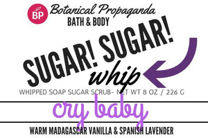 Whipped Soap Sugar Scrubs