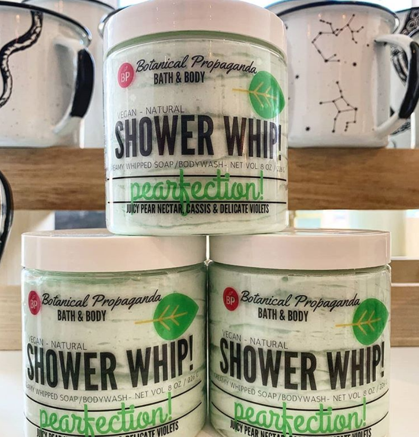 🍐 Pearfection Shower Whip- SOLD OUT UNTIL CHRISTMAS 2020