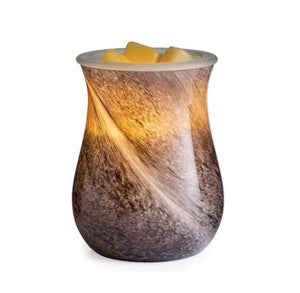 OBSIDIAN- Blown Glass Illumination Fragrance Warmer
