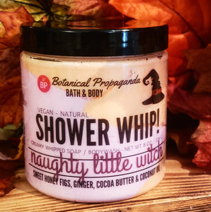 🍂👻Naughty Little Witch Shower Whip! 🧹🎃