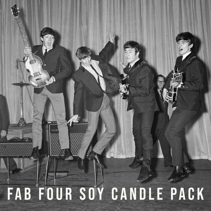 Fab Four Soy Candle Pack