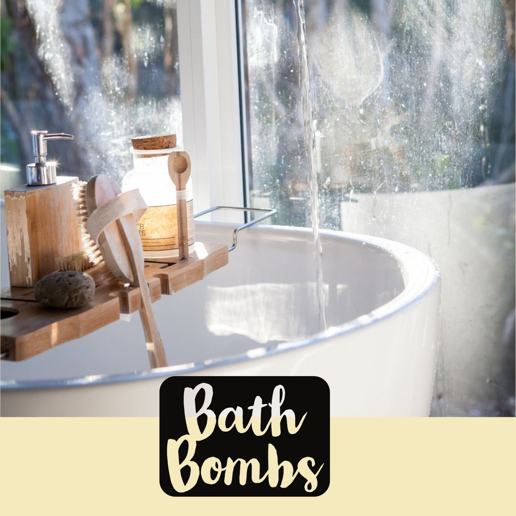 Our Luxury Signature Bath Bombs are handmade in small batches to ensure ultimate freshness.  These beauties are all about your Skin! We are proud makers of Luxury Bombs that release skin loving Carrier Oils to ensure you experience the softest of skin when finished. We have perfected our recipe over the past 5 years to produce the