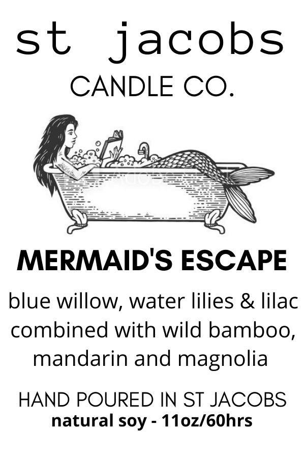 🧜‍♀️ MERMAID'S ESCAPE- NEW - 😎🏝️ St. Jacobs Candle Summer 2020 Collection 🍹🏄