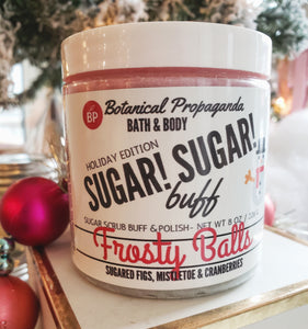 Frosty Balls ☃️ Sugar! Sugar! Buff 🤶🎅 Holiday Edition🎄❄️ SOLD OUT UNTIL DECEMBER 2020!