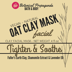 Natural Clay Facial Masks