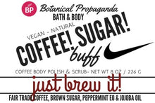 Botanical Propaganda Natural Small Batch Coffee Scrub Made in Canada