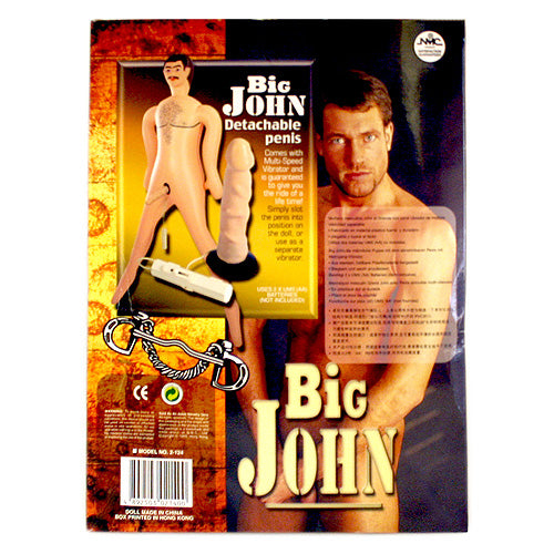 Big John Vibrating Male Sex Doll