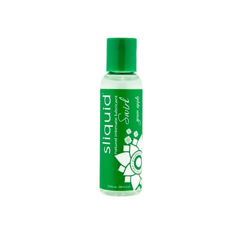 Sliquid Naturals Swirl Flavoured Lubricants Green Apple 59ml
