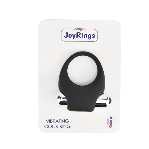 JoyRings Silicone Vibrating Cock Ring