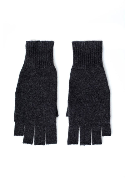 Cashmere Fingerless Gloves with Piontelle Star