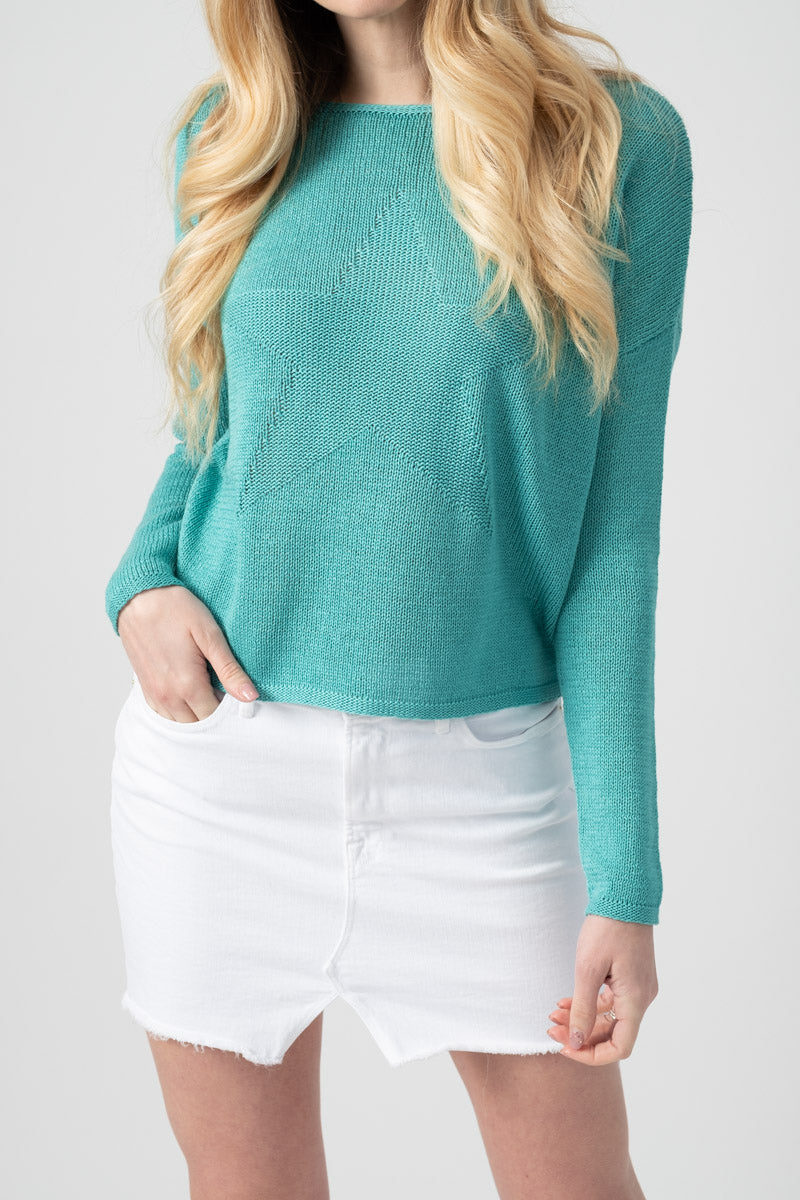 Castania Sweater in Mermaid