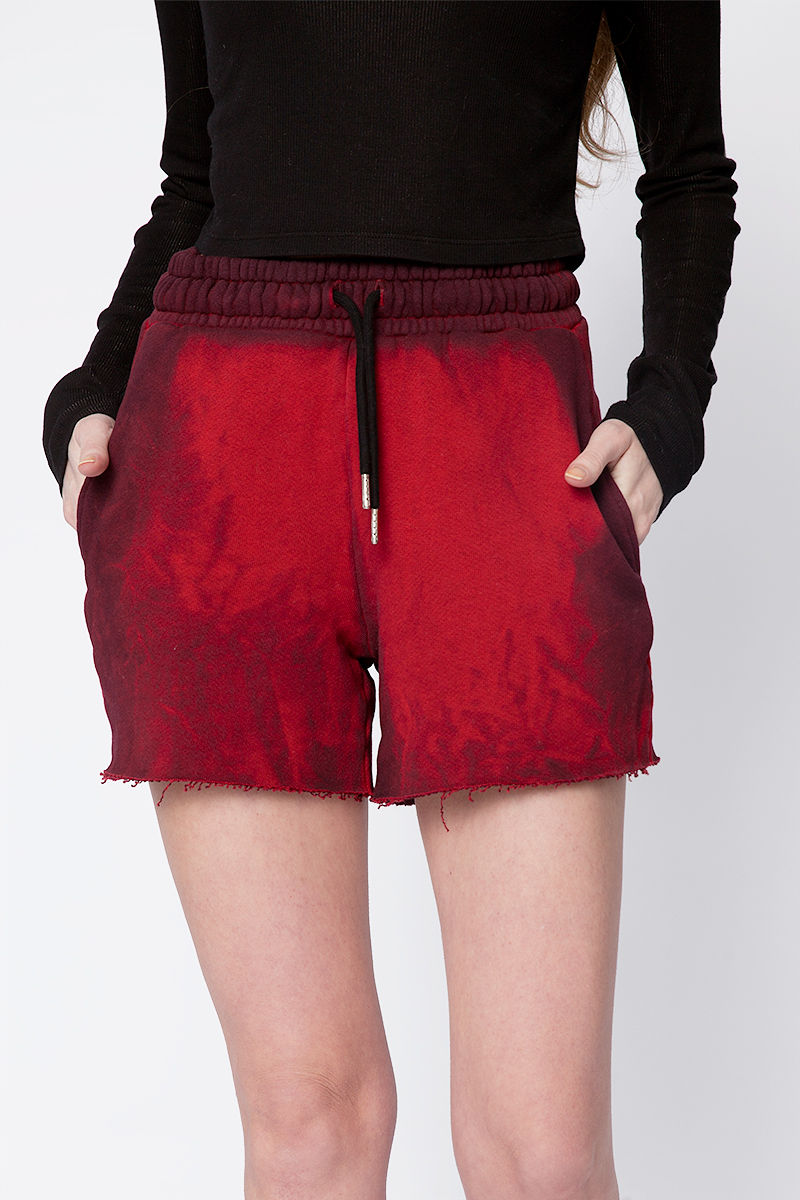 Brooklyn Shorts in Ruby Mix