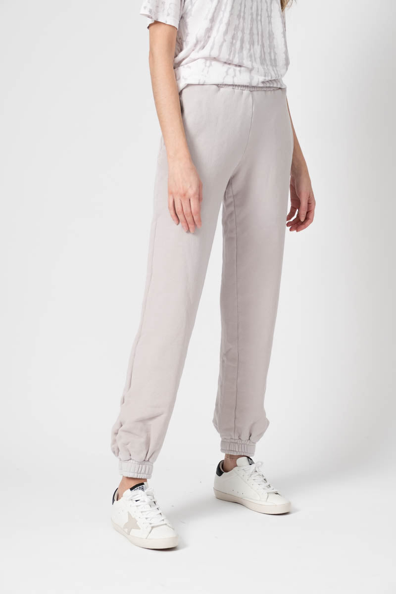 Brooklyn Sweatpants in Vintage White Stone