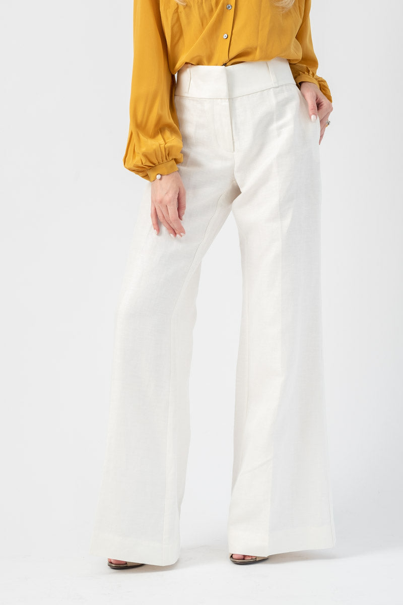 Metropolitan Pant in Soft White