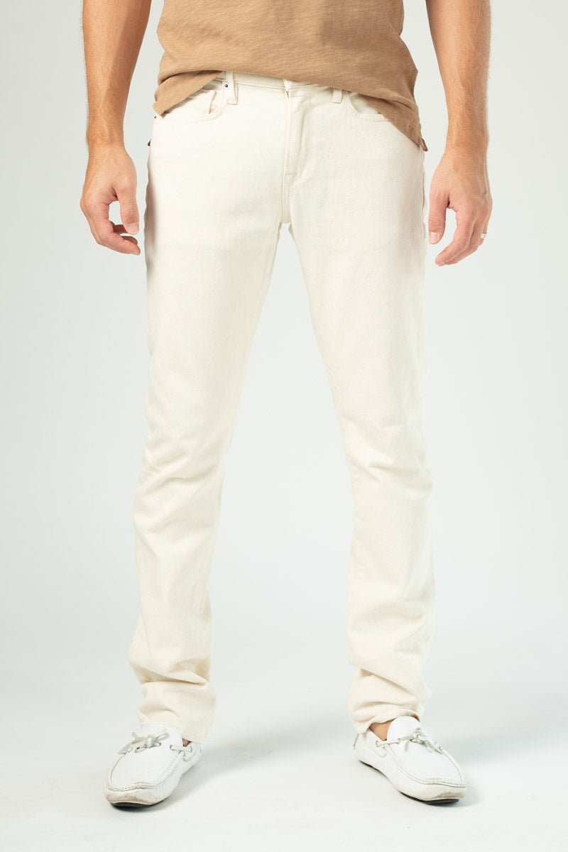 L'Homme Mid-Rise Slim in Oat