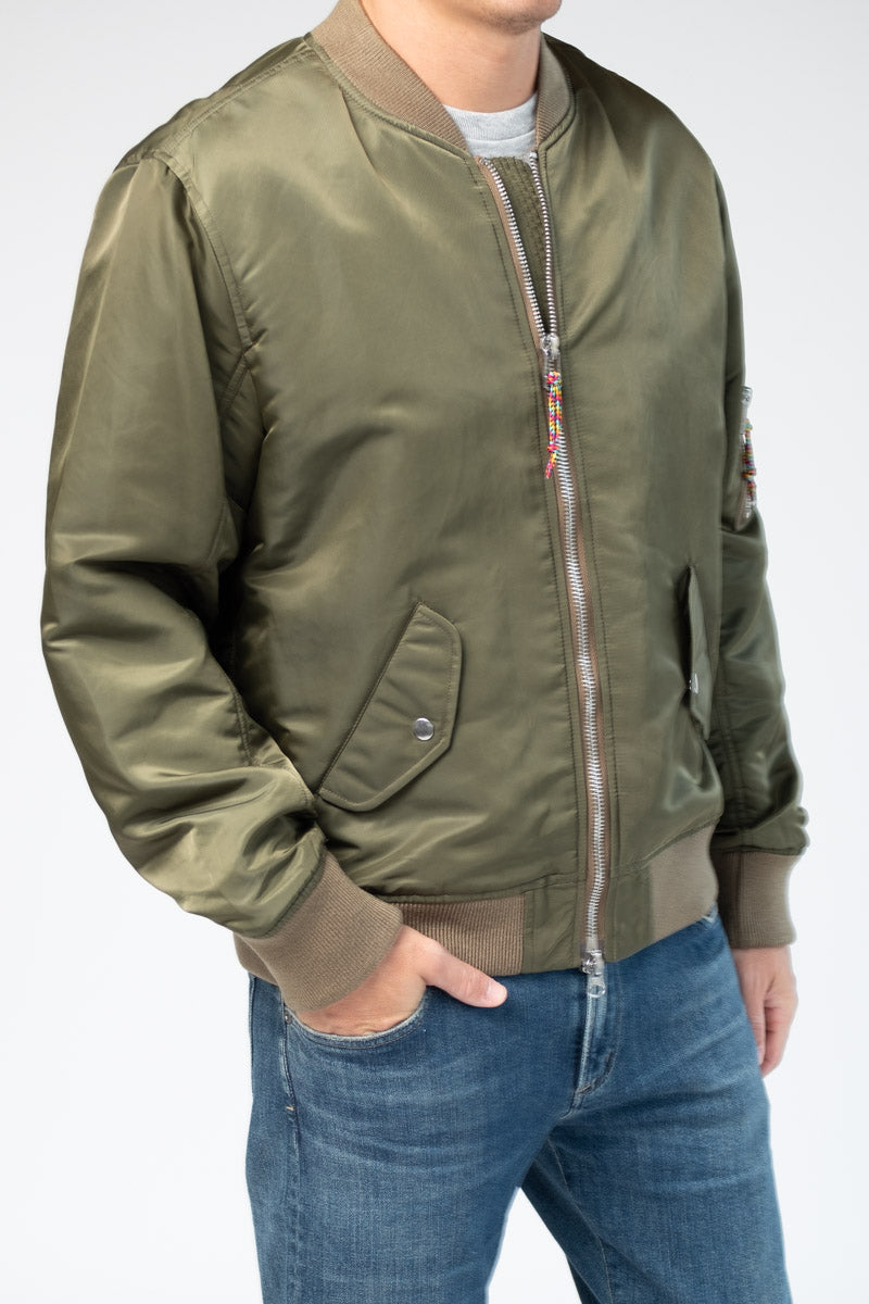 Nylon Bomber in Caper