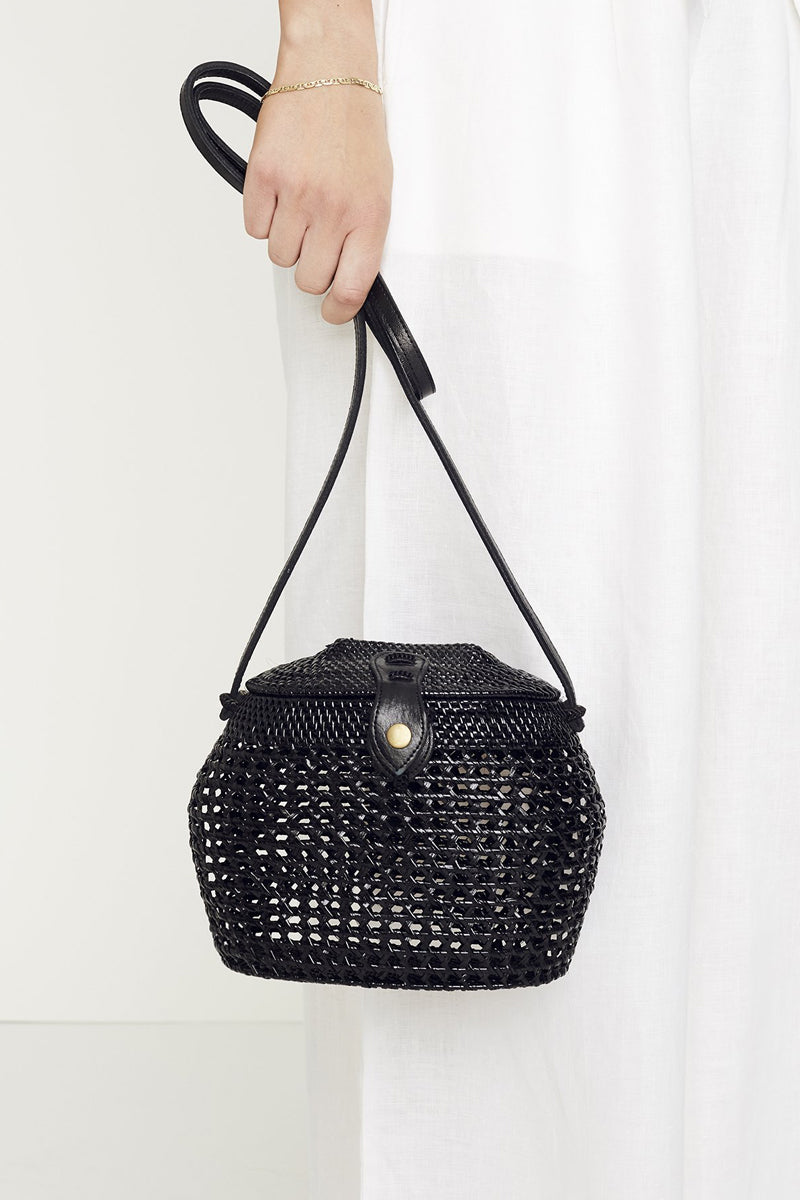 Paloma Shoulder Bag in Plain Black