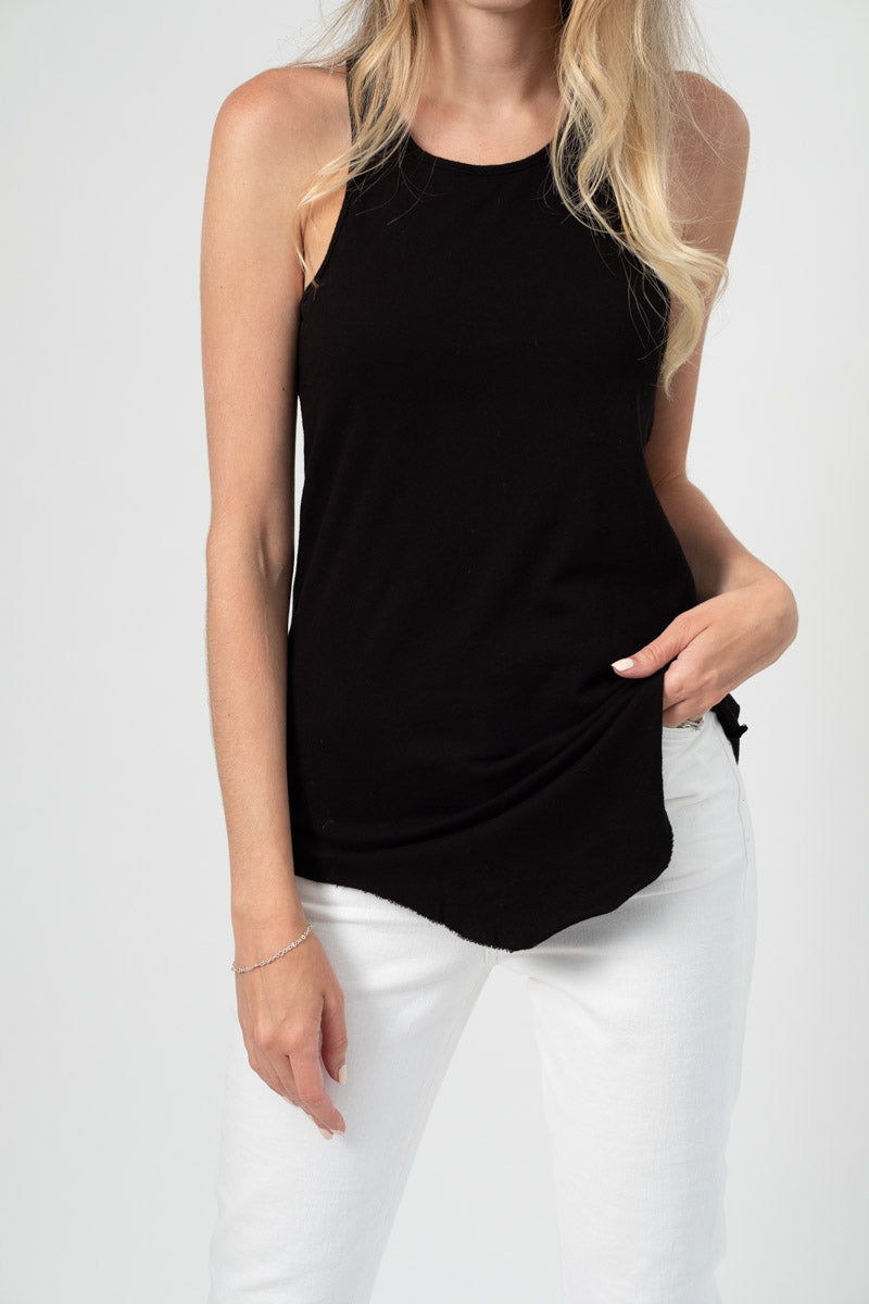 Base Layer Tank in Black