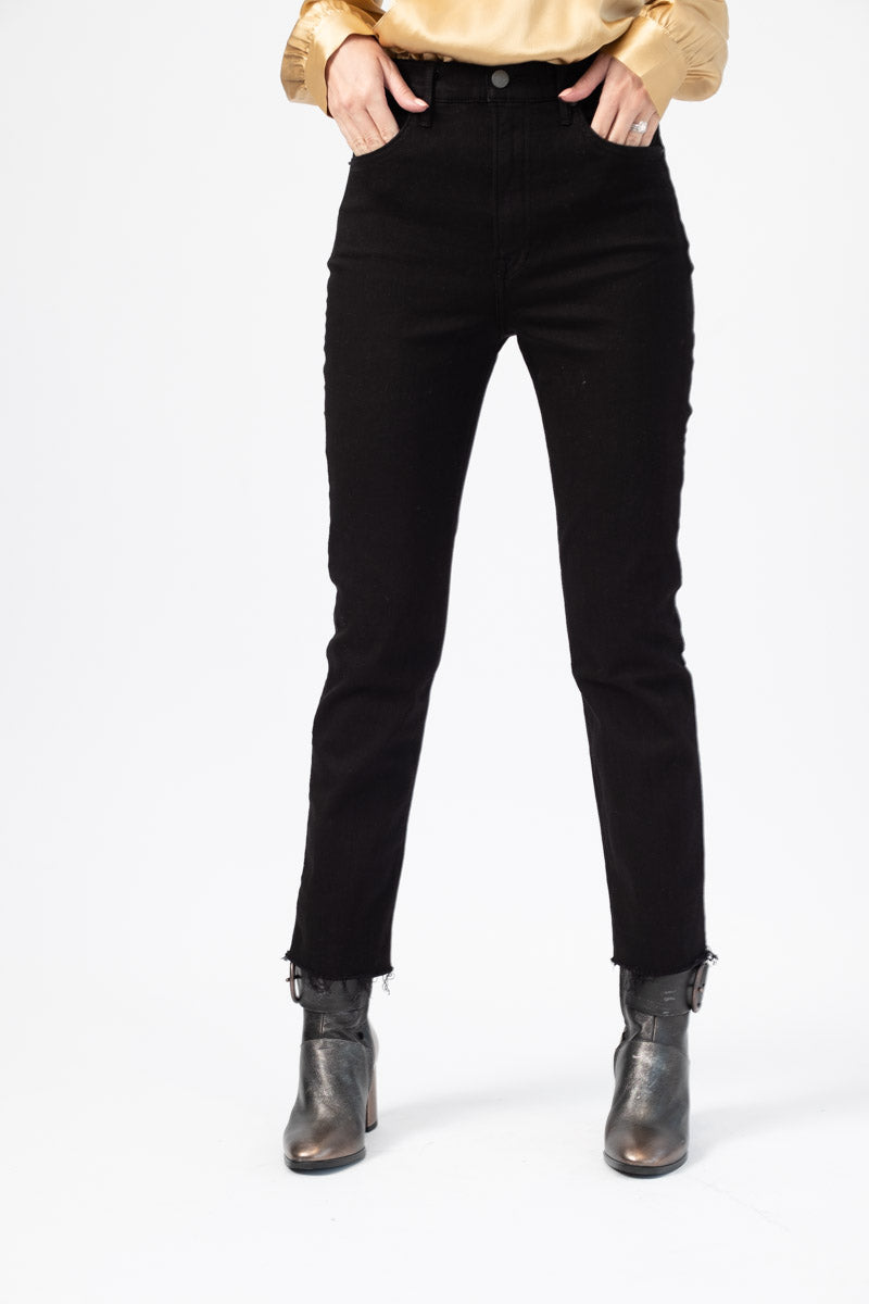 Reed High Waist Skinny Jeans in Black Magic Woman