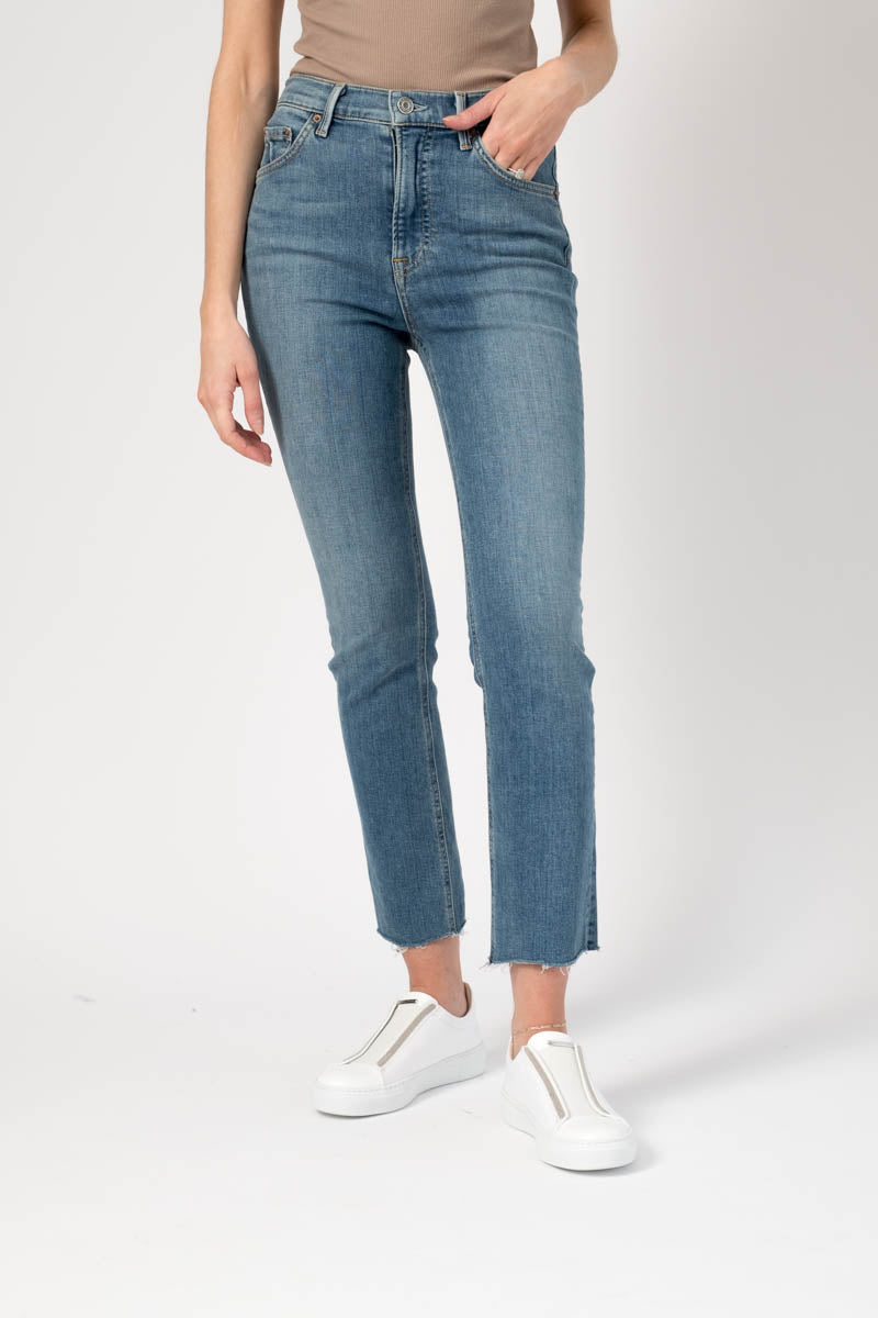 Reed Cropped High Rise Skinny in Come Over