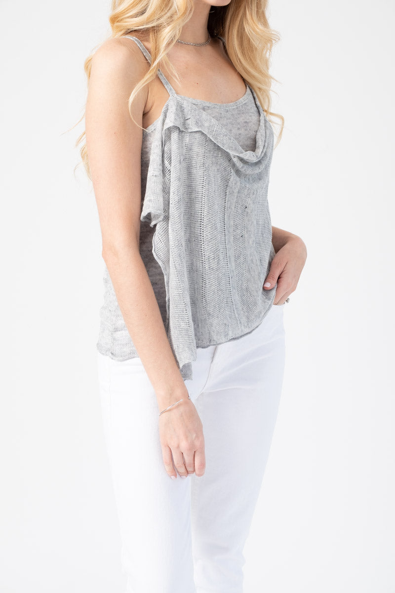 Linen Cami in Willow