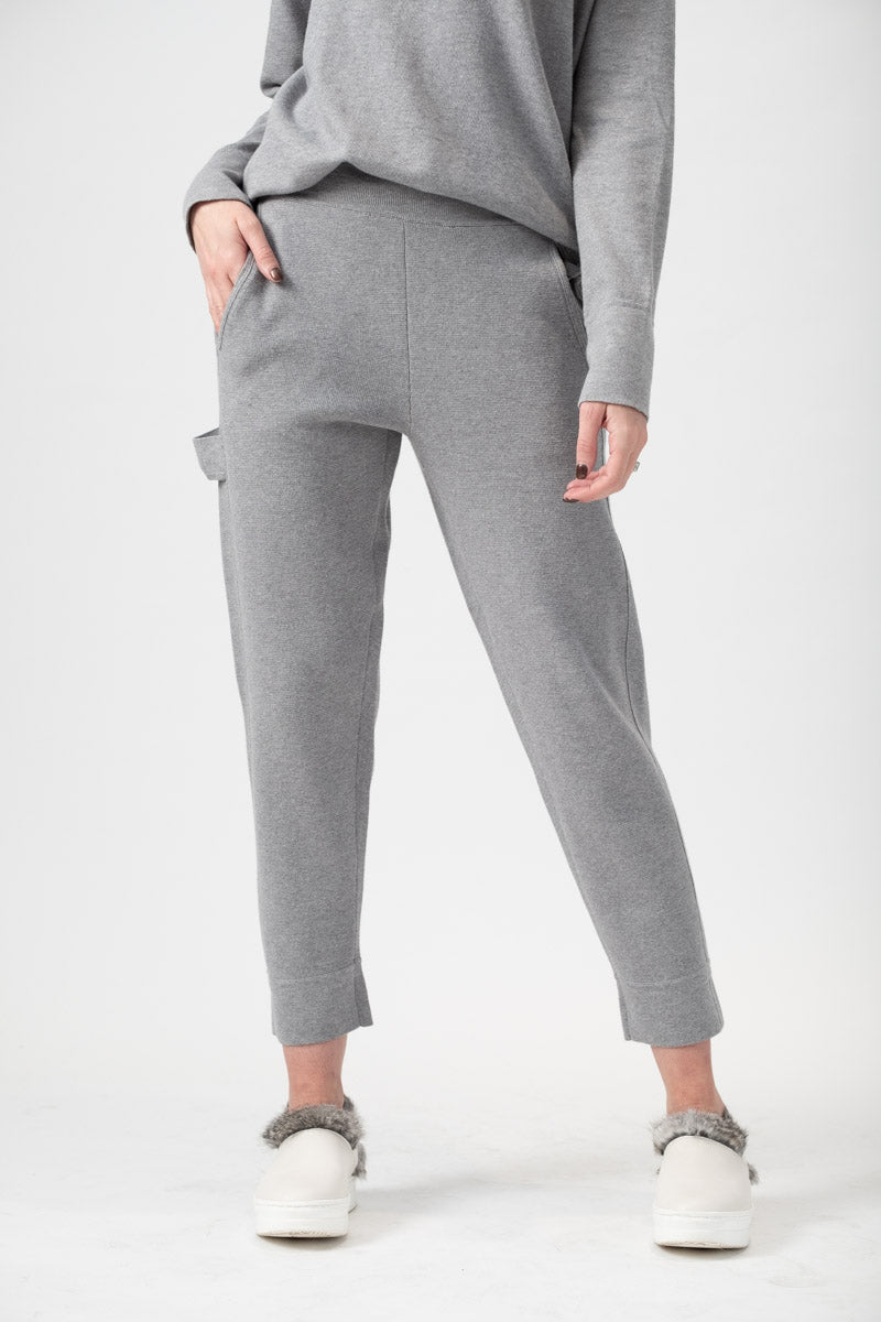 Cotton Sweatpants in Ash