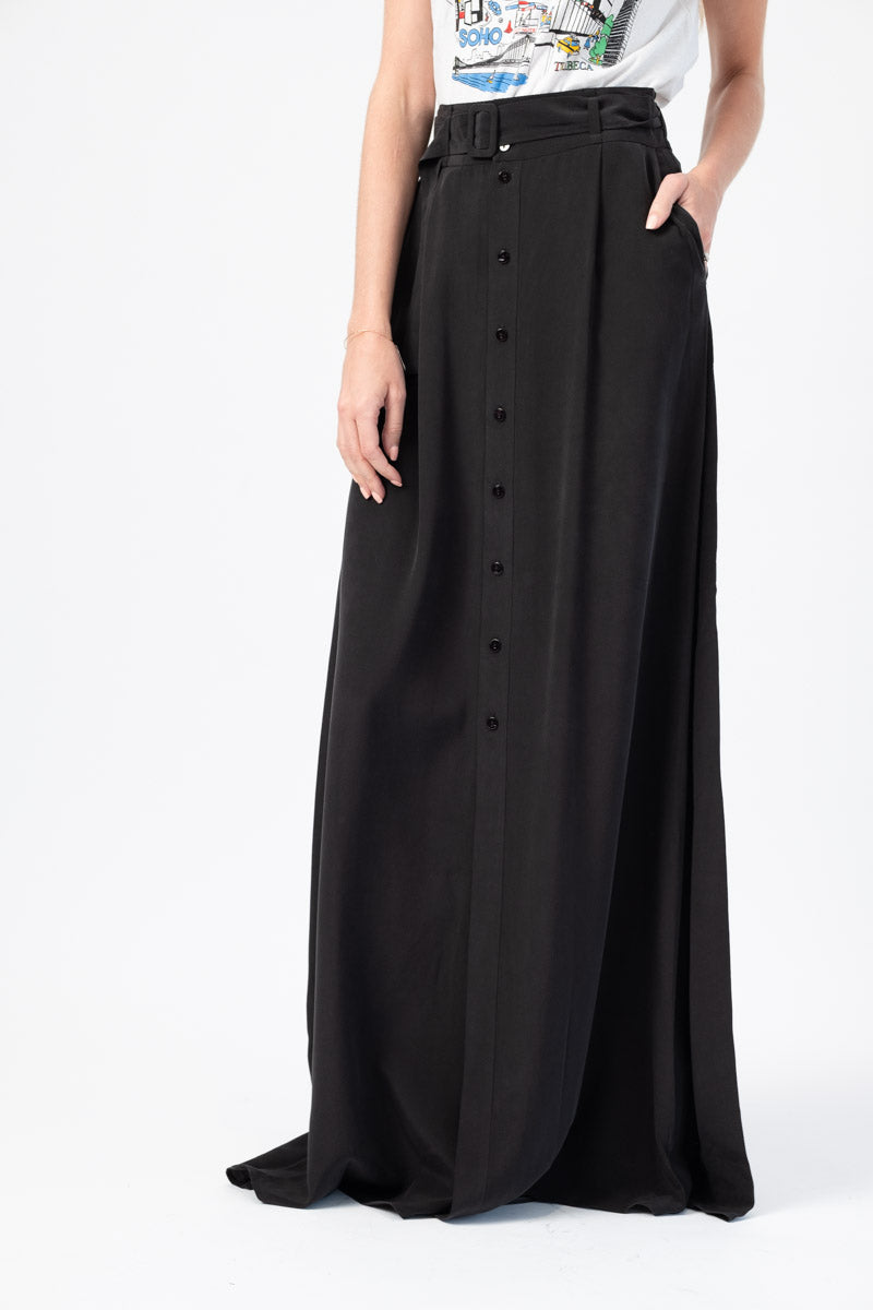 Bendetta Maxi Skirt in Black