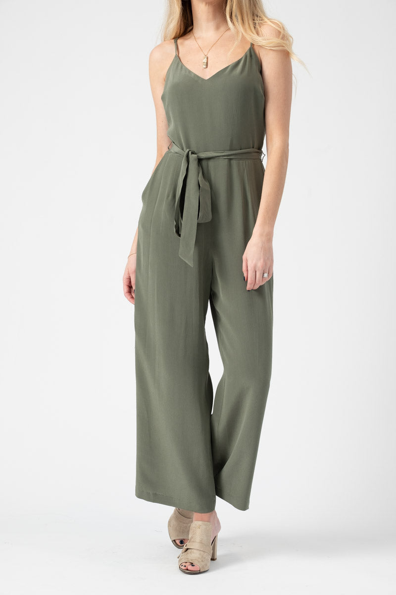 Jaelyn Jumpsuit in French Moss