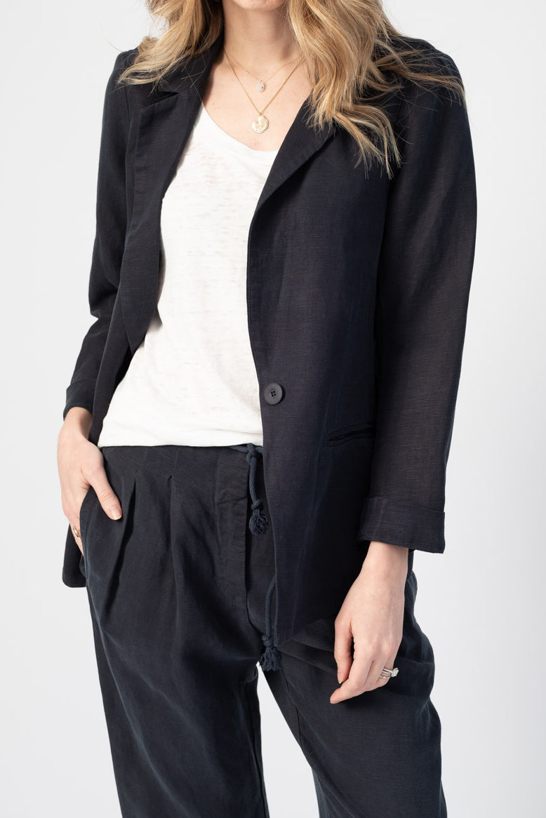 Trudy Blazer in Midnight