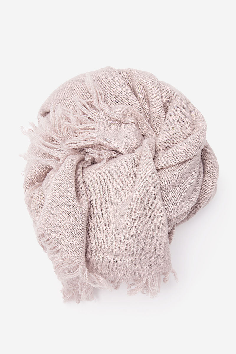 Sim Slow Cashmere Scarf in Drift