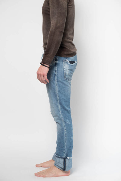 Bonfire Cotton Jeans in Light Wash