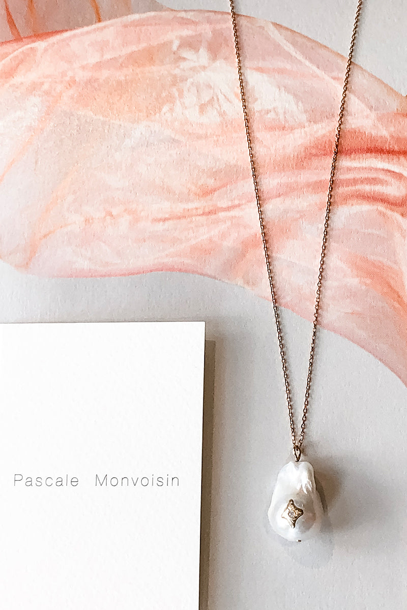 14k Rose Gold Charlie N°1 Necklace