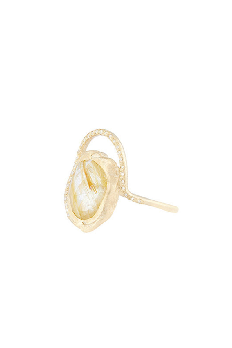 Gaïa Rutile Quartz Ring