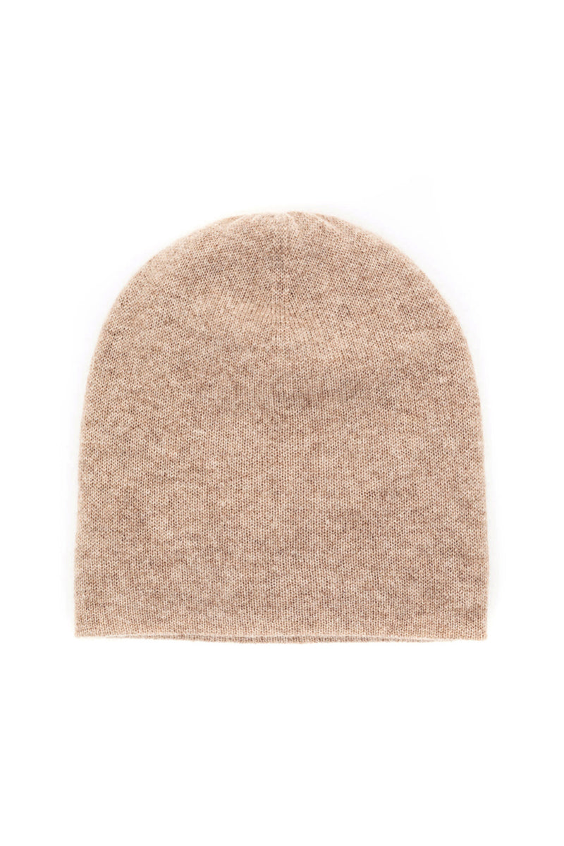 Slouchy Beanie in Toast