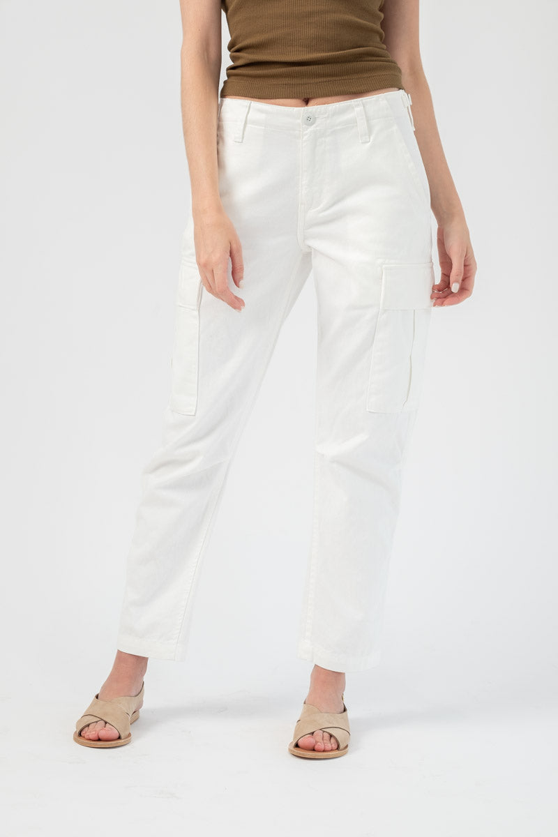 Cargo Pant in off-White
